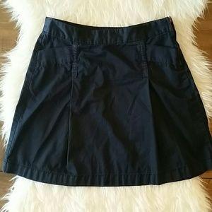 J. Crew Weathered Chino Classic Twill Blue Skirt 4